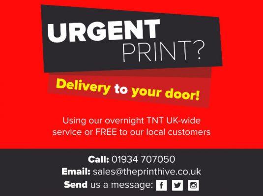 The Print Hive Weston-Super-Mare Urgent Printing