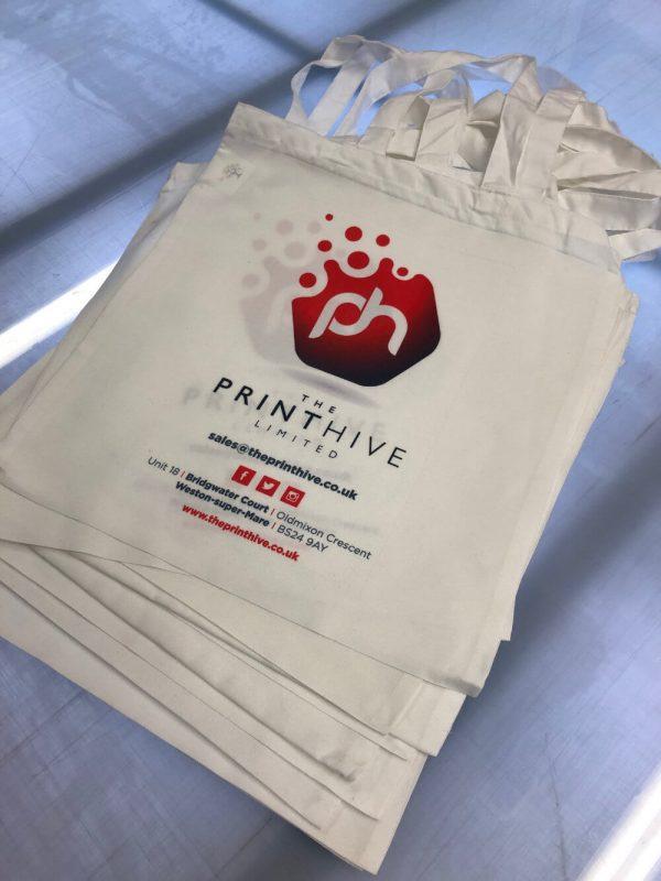 The Print Hive Tote Bags